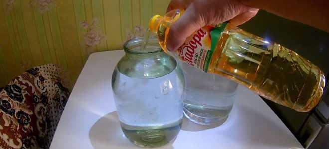 Каким маслом лучше очистить самогон и как правильно это сделать