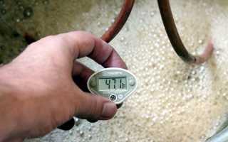 При какой температуре происходит наилучшее брожение браги