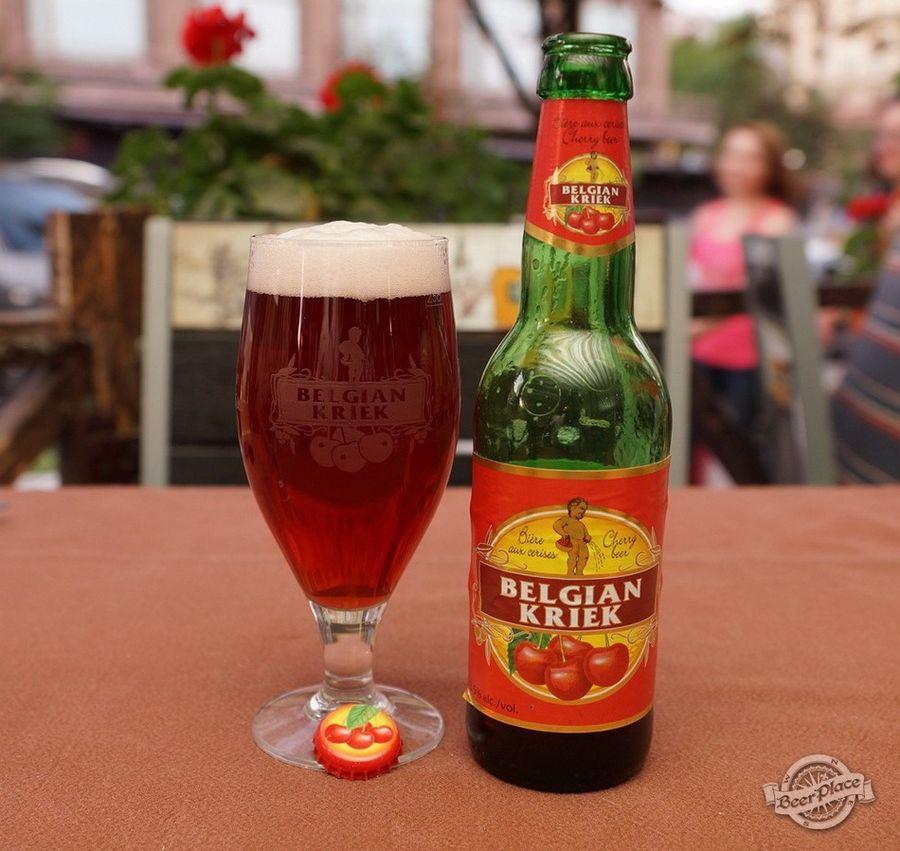 Бельгийское пиво с вишней Kriek