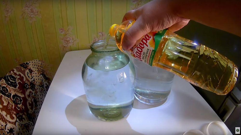 Добавление масла в самогон