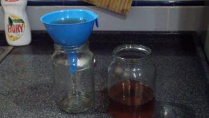 Фильтрация очищенного дистиллята от хлеба
