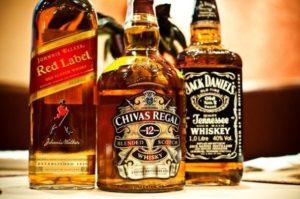 Несколько видов виски