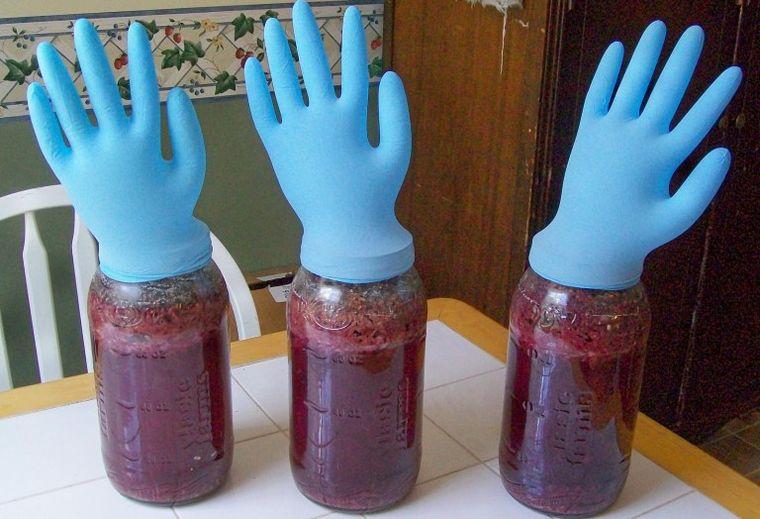 Перчатка для брожения