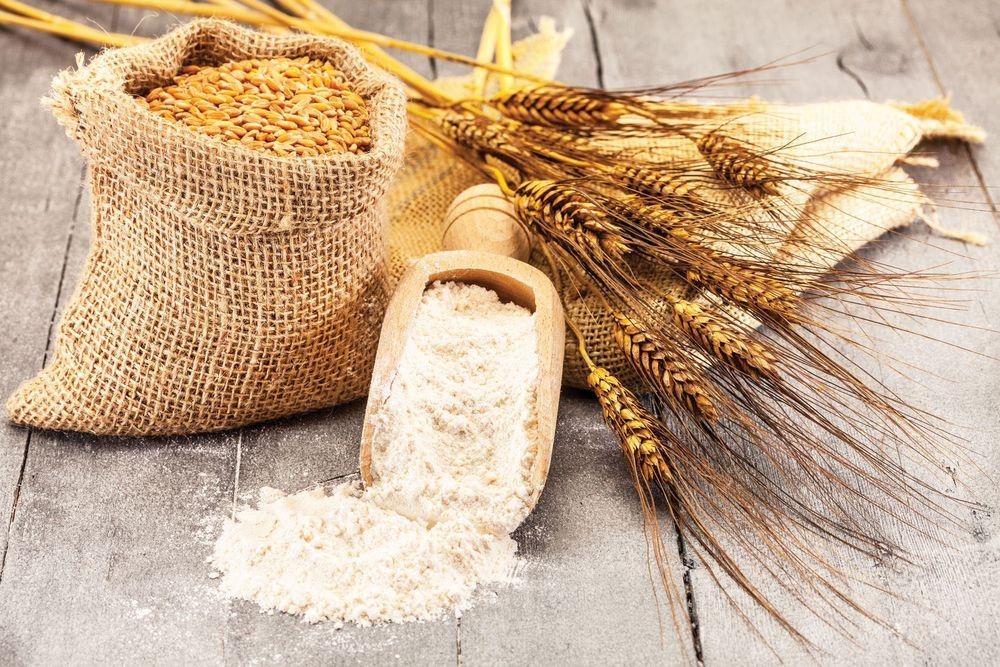 Мука с пшеницей