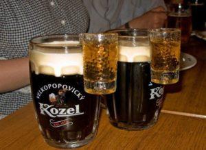 Бехеровка с пивом