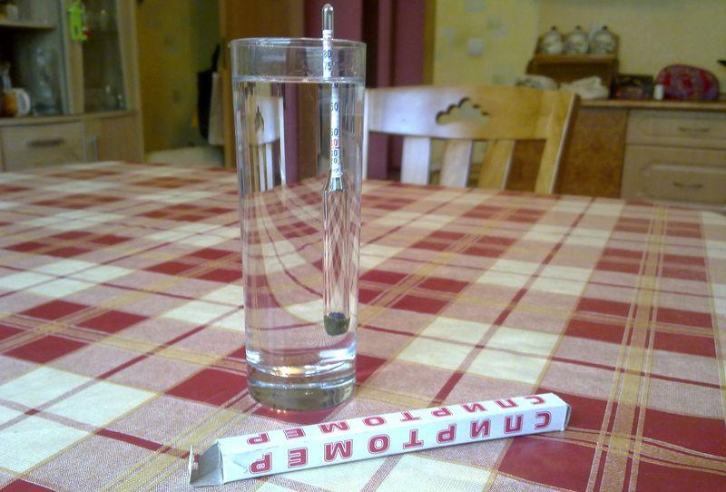 Измерение крепости браги спиртометром