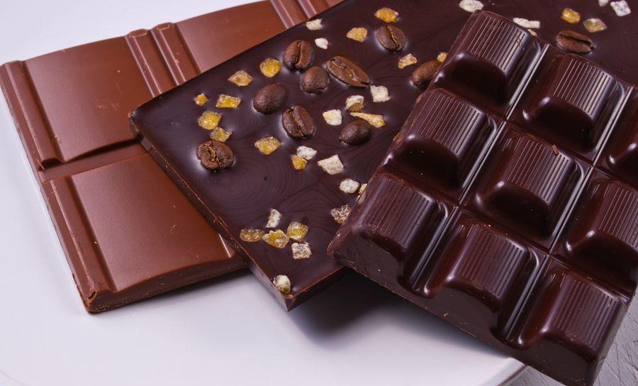 Три вида шоколада