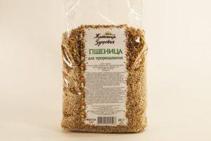 Пшеница дял проращивания