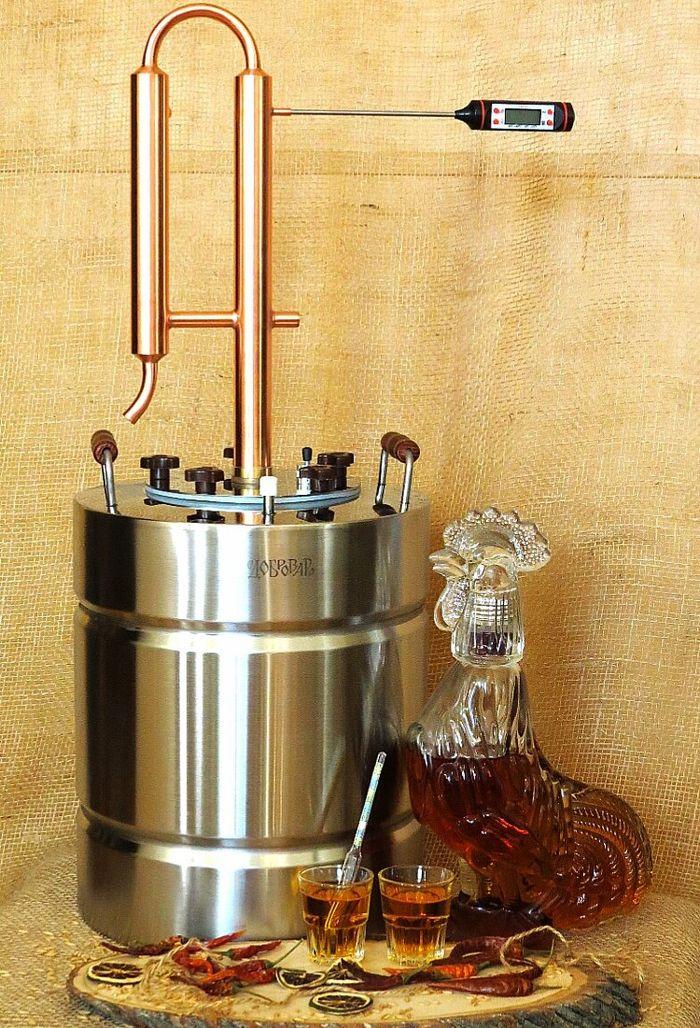 Самогонный аппарат из меди плюсы минусы отзывы домашнюю мини пивоварню