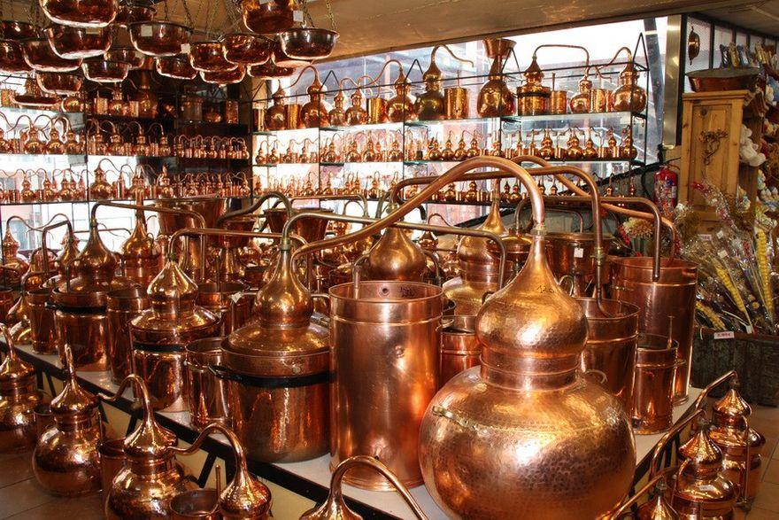 Производство португальских аламбиков
