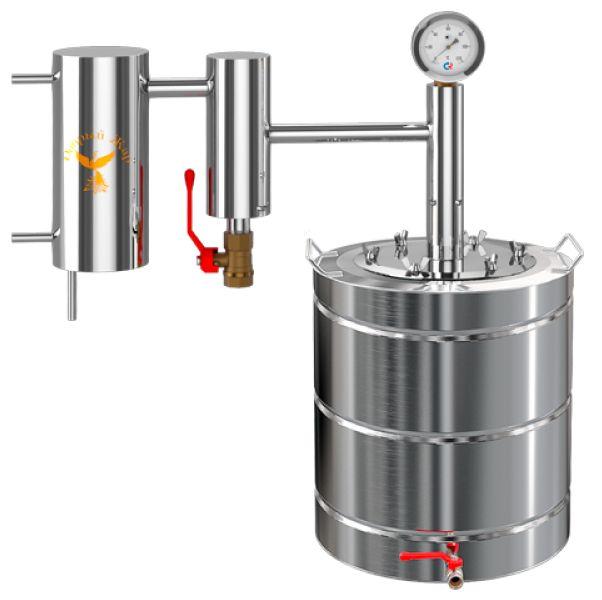 Самогонный аппарат с сухопарником или бражная колонна что лучше как делать самогонный аппарат из скороварки