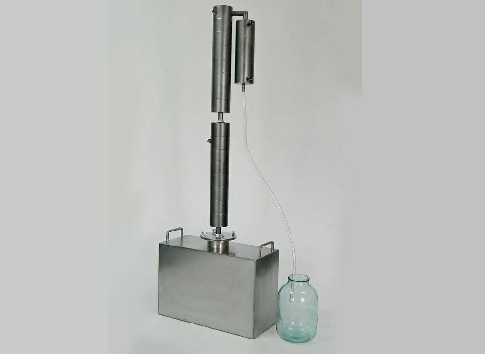 Комплект Домовенок 7, куб на 27 литров и барботажная колонна.
